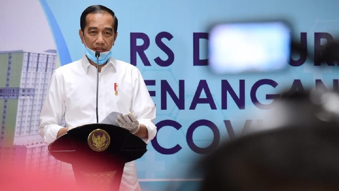 Jokowi Minta PPKM Jawa-Bali Diperpanjang hingga 8 Februari