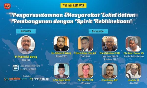 Warga Maumere Jakarta Gelar Webminar Nasional
