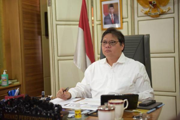 Menko Airlangga Dilaporkan Aktivis Cipayung Plus NTB