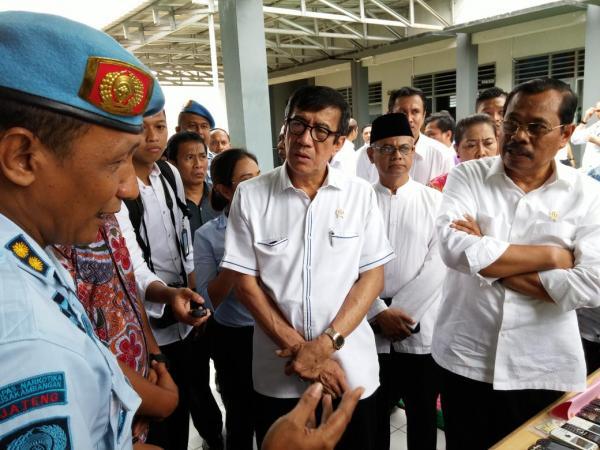 Yasonna Dinilai Paling Bertanggung Jawab atas Kebakaran di Lapas Tangerang