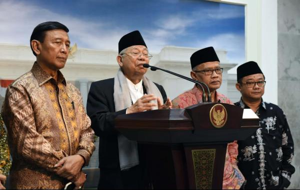 Ma`ruf Amin Minta Reformasi Birokrasi Polri Jadi Prioritas