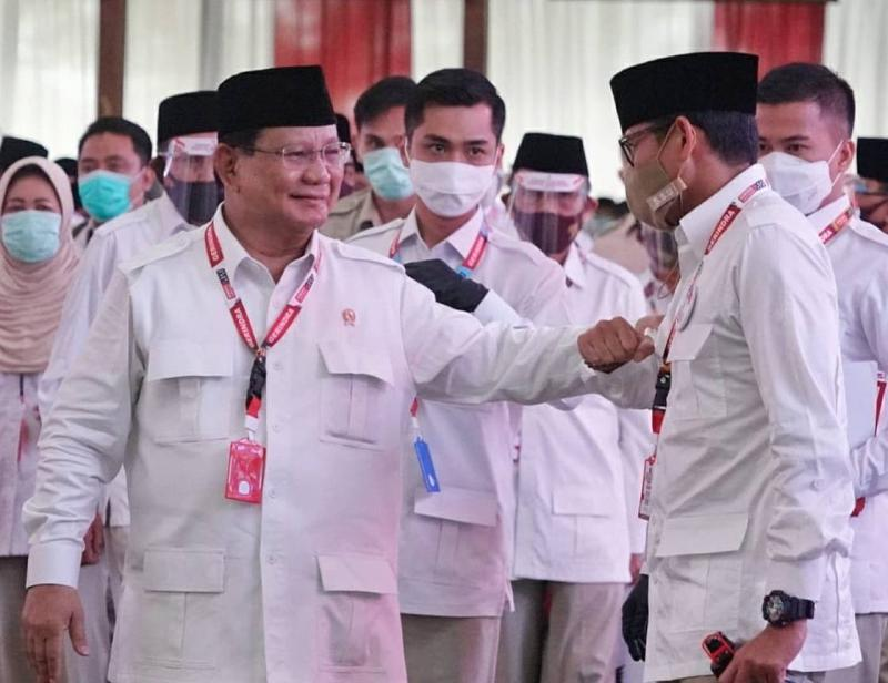 Peluang Prabowo Jadi Capres Lebih Kuat Ketimbang Anies dan Ganjar