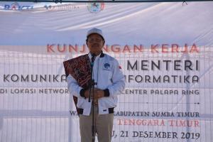 Jelang PON XX Papua, Menteri Johnny: Kominfo Dukung Layanan Telekomunikasi dan Media Center