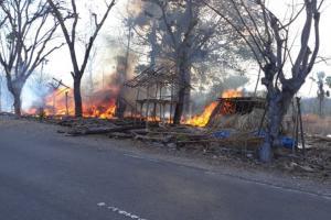 Polisi Klaim Info Pembakaran Rumah di Besipae Hoaks