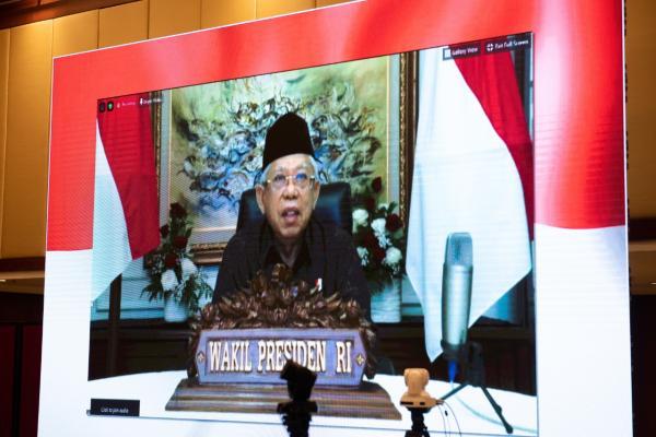 Ma`ruf Amin Minta Indonesia Jadi Produsen Produk Halal Dunia