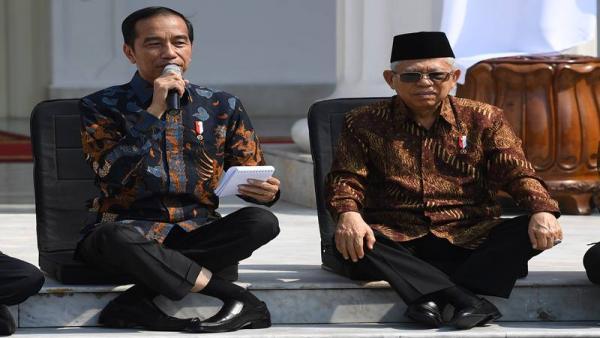 Setahun Jokowi- Ma`ruf Amin: Utang Tiap Penduduk Indonesia Rp20,5 Juta