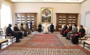 JK Ketemu Paus Fransiskus di Vatikan Bahas Perdamaian Dunia