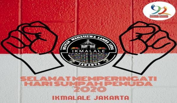 Pesan Sumpah Pemuda IKMALALE Jakarta: Ayo Bangun Indonesia