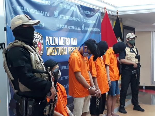 Polisi Ringkus 10 Pembegal Sepeda yang Meresahkan Warga Jakarta