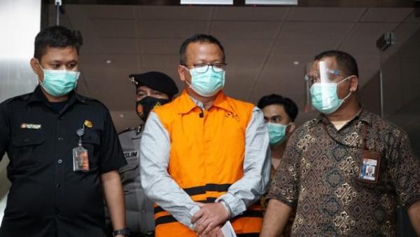 KPK Cecar Edhy Prabowo Soal Tim Uji yang Diduga Perantara Penerima Fee