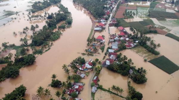Turun, Indonesia Catat 2.855 Bencana Selama 2020