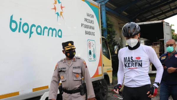 Vaksin Tiba di Jateng, Ganjar: Vaksinasi Dimulai 14 Januari