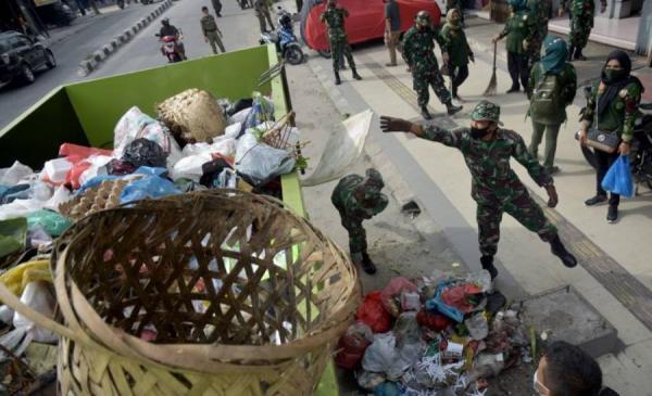 Krisis Sampah di Pekanbaru, Prajurit TNI Turun Tangan
