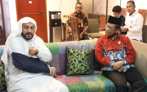 Syek Ali Jaber Meninggal, Mahfud MD: Kita Kehilangan Tokoh Penyejuk