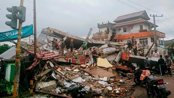 BMKG: 47 Kali Gempa Hantam Sulbar Sejak Kamis