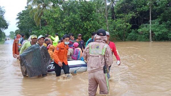 Banjir Kalsel Berpotensi Terjadi hingga Februari, 21.900 Warga Terdampak