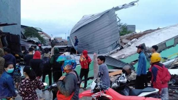 Polisi Gelar Patroli Cegah Penjarahan Bansos Korban Gempa Sulbar