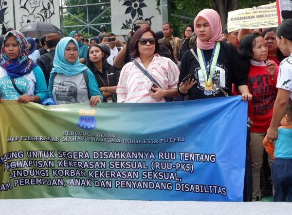 Aktivis Perempuan PMII Harap RUU PKS Tak Ditunda Lagi