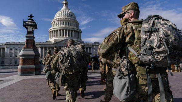 Pelantikan Biden, Washington Dipagari 25 Ribu Pasukan Keamanan