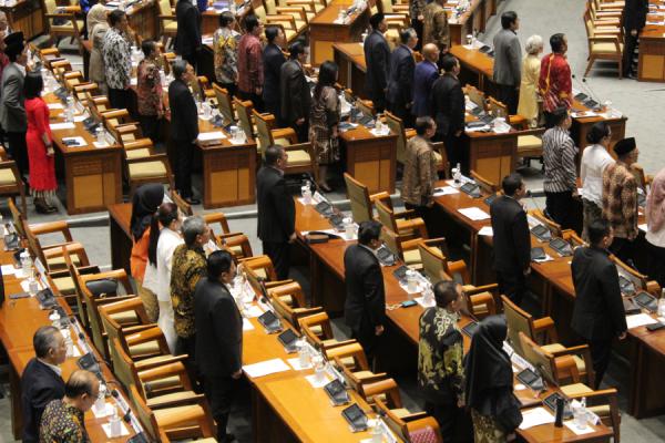 DPR Gelar Sidang Paripurna Ambil Keputusan terkait Calon Kapolri Listyo Sigit