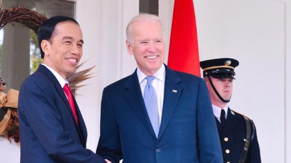 Jokowi Sampaikan Selamat untuk Biden, Minta Perkuat Kerjasama Kedua Negara