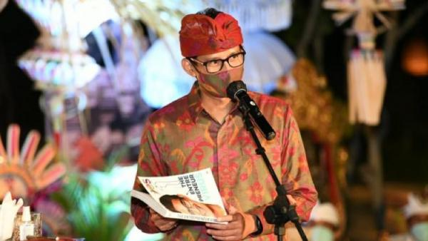 Pacu Ekonomi Pariwisata, Sandi Uno Bakal Ngantor di Bali