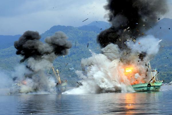 Kapal Milik Anggota DPR Terbakar dan Meledak di Kaltim