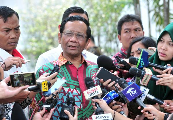 Mahfud MD Sebut Pemerintah Tak Proses Hukum Din Syamsuddin