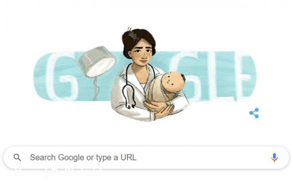 Profil Marie Thomas, Dokter Perempuan Pertama yang Jadi Google Doodle Hari Ini