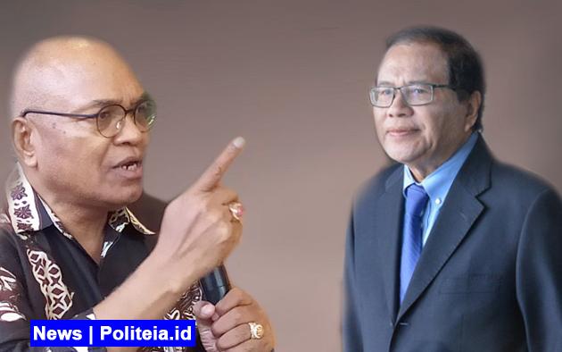 Soal Romo Benny, Petrus Selestinus Sebut Rizal Ramli Penjilat