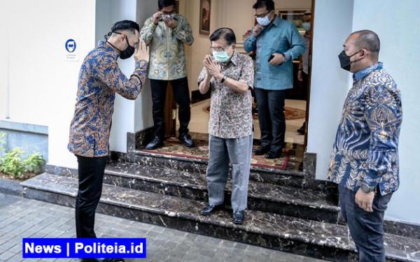 Bertemu JK 2 Jam, AHY Diminta Bersabar terkait Konflik Demokrat