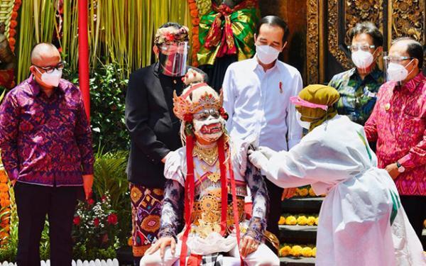 Jokowi Sebut Bali Siapkan 3 Zona Hijau yang Dibuka untuk Pariwisata