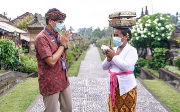 Sandiaga Uno Sebut Desa Wisata Jadi Salah Satu Daya Tarik di 5 Bali Baru