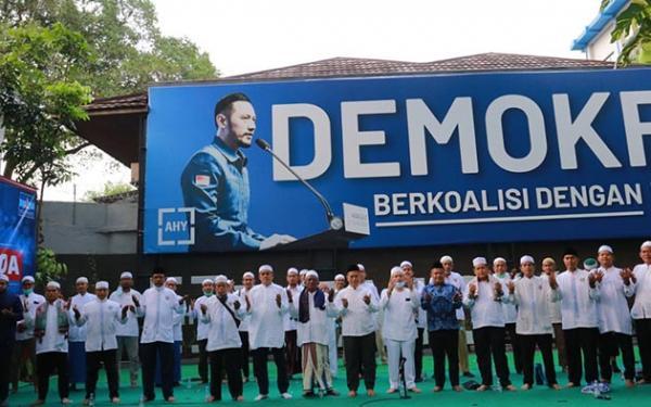 Demokrat AHY Lawan Kubu Moeldoko dengan Doa