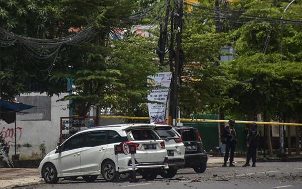 Saksi Mata Duga Pelaku Bom Bunuh Diri di Katedral Makassar Seorang Perempuan