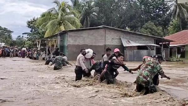 Korban Meninggal Bencana NTT, Bertambah Jadi 177 Orang