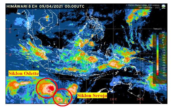 Setelah Siklon Seroja, BMKG Waspadai Dampak Siklon Odette