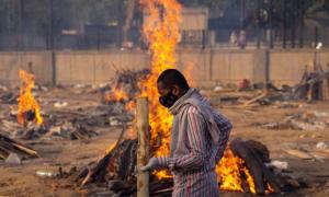 Kasus Covid-19 Capai 24 Juta Orang di India di Tengah Varian B1617 Menyebar ke Dunia