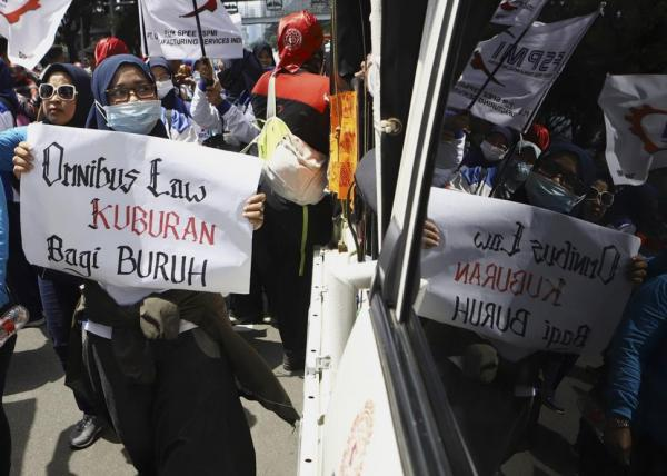 Hari Buruh Sedunia, Perempuan Buruh Tuntut Perlindungan dan Upah Layak