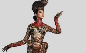 Tampil di Miss Universe 2020, Ayu Maulida Kenakan Kostum Komodo