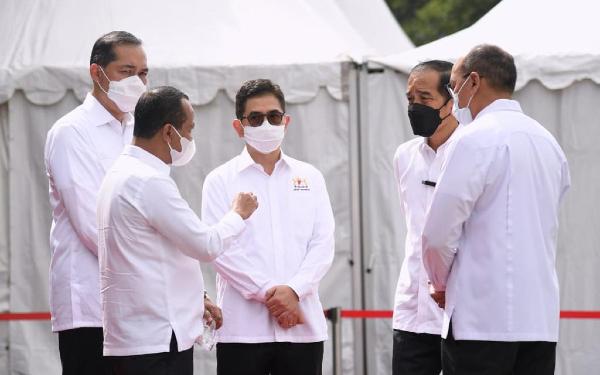 Vaksinasi Gotong Royong Dimulai, Bahlil Lahadalia: Pemerintah Tidak Bisa Jalan Sendiri