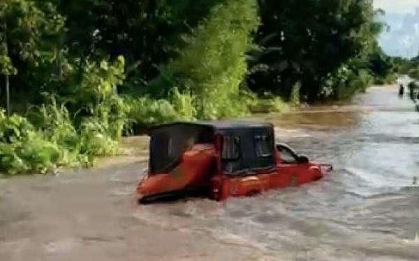 7 Kecamatan di Kutai Timur Terendam Banjir hingga 1 Meter