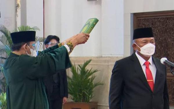 Profil Kepala BNPB Ganip Warsito yang Dilantik Jokowi Gantikan Doni Monardo