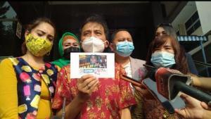 Roy Suryo Resmi Laporkan Eko Kuntadhi ke Polda Metro Jaya
