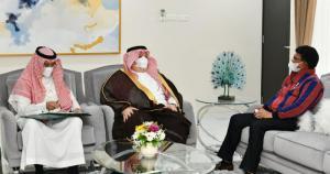 Terima Dubes Arab Saudi, Menteri Johnny Bahas Kerja Sama Ekonomi Digital