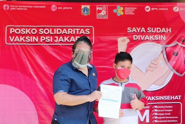 PSI Gelar Vaksin di Jakarta Timur sampai 23 Juli, Warga Antusias